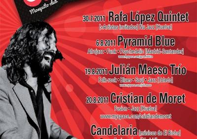 Cartel A Orillas del jazz 2011