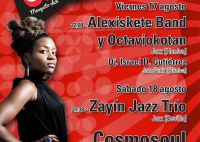 Cartel A Orillas del jazz 2012