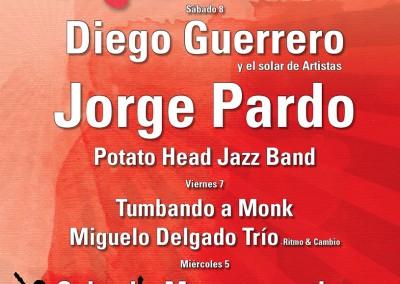 Cartel A Orillas del jazz 2015